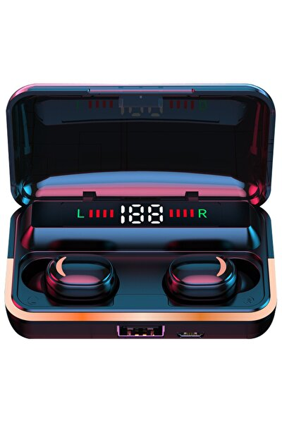Bluetooth Kulaklık 1500 Mah Powerbank Suya Dayanıklı Müzik Ve Sporcu Kulaklığı Ios&android Uyumlu