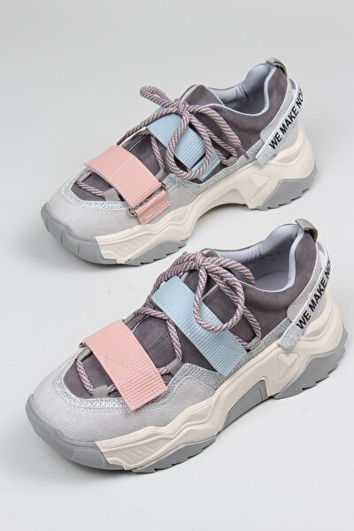 Multi Renkli Günlük Kadın Sneaker Spor Ayakkabı