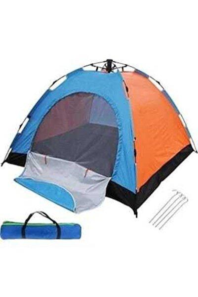 4 Kişilik Otomatik Kurulumlu Kamp Çadırı 200x200x140