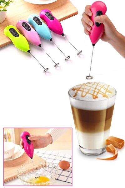 Pilli Lüx Kahve Köpürtücü & Çırpıcı
