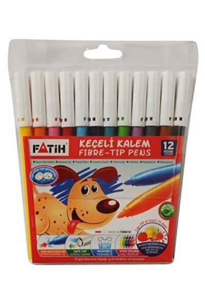 Keçeli Boya Kalemi 12 Renk