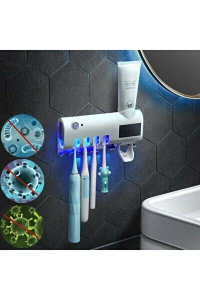 Akıllı Diş Macunu Sıkacagı Ve Uv Sterilizatör Fırça Tutucu