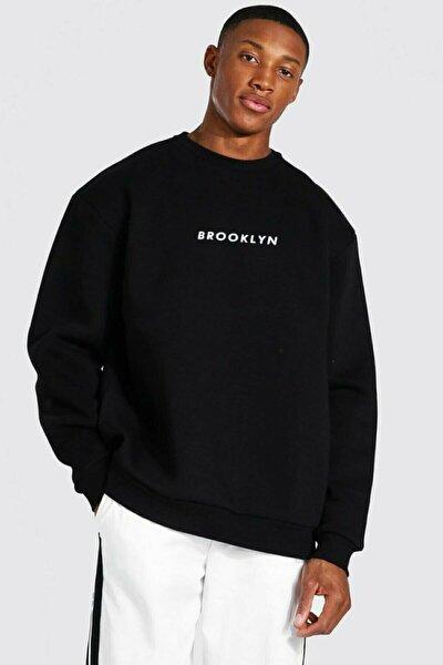 Brooklyn Siyah Sweatshirt