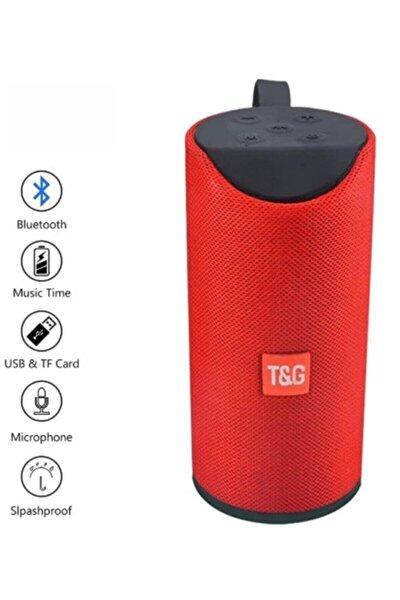 Hobipix Extra Bass Bluetooth Hoparlör Taşınabilir Kablosuz Ses Bombası Kırmızı