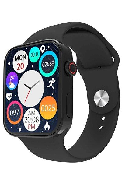 Watch 7 Pro Max Smartwatch Yeni Kasa Çift Tuş Aktif Konuşma Özellikli Türkçe Siyah Akıllı Saat
