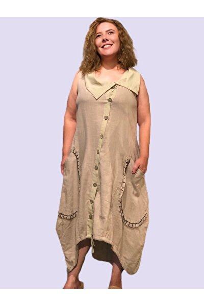 Kadın Tasarım Uzun Gömlek Elbise