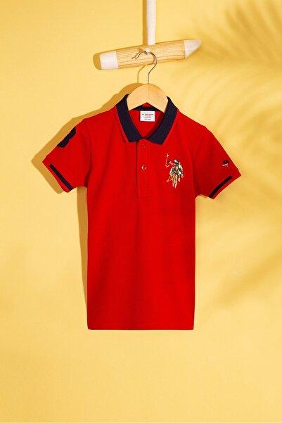 Kirmizi Erkek Çocuk T-Shirt Basic
