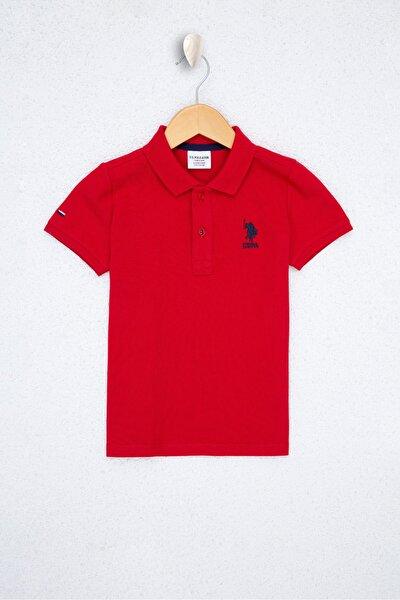 Kırmızı Erkek Çocuk T-Shirt