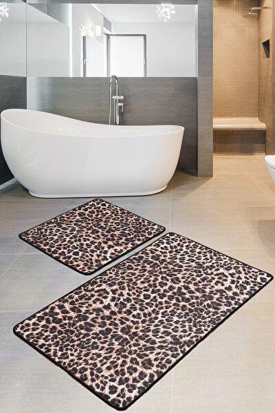 Jaguar Djt 2 Li Set Banyo Halısı, Pasas