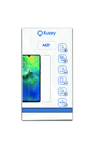 Samsung M21 Temperli Ekran Koruyucu Kırılmaz Cam