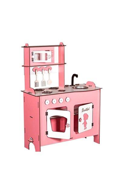 Ahşap Oyuncak Mutfak Seti Eğitici Montessori Oyuncak Mutfak Seti