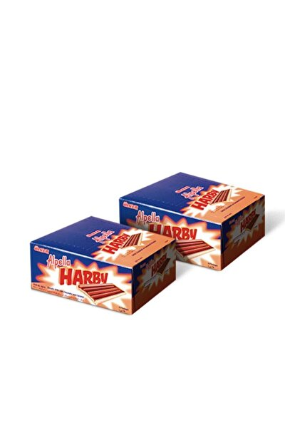 Harby Karamelli Kaplamalı Bisküvi 25 Gr (24 Adet) / 2 Adet