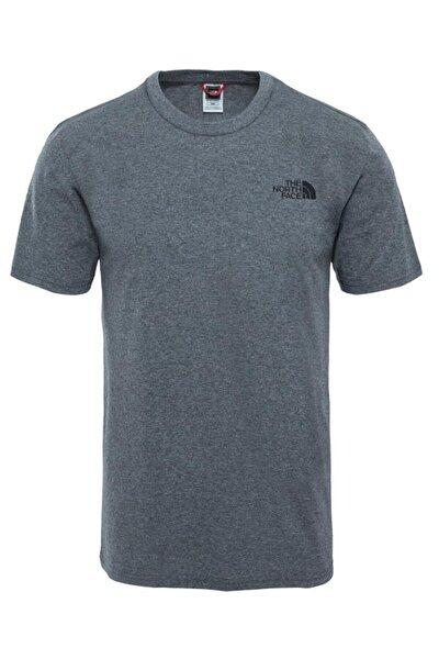 M S/S SIMPLE DOME TEE Açık Gri Erkek T-Shirt 100480888