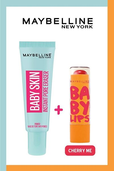 Baby Skin Makyaj Bazı + Baby Lips Dudak Balmı