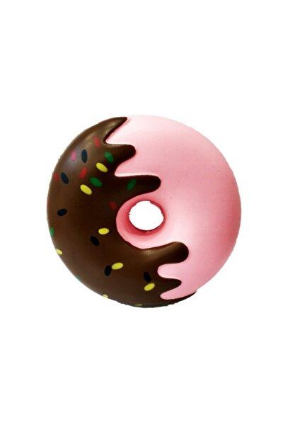 ESSQ028 Sukuşi Squishy Yumuşak Yavaş Yükselen Oyuncak Renkli Donat Donut