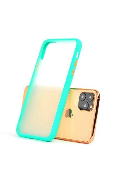 Apple Iphone 11 Pro Max Silikon Kılıf Turkuaz