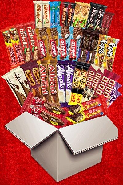 Çikolata Aşkı Fırsat Ürünü X2 Medium 44 Parça