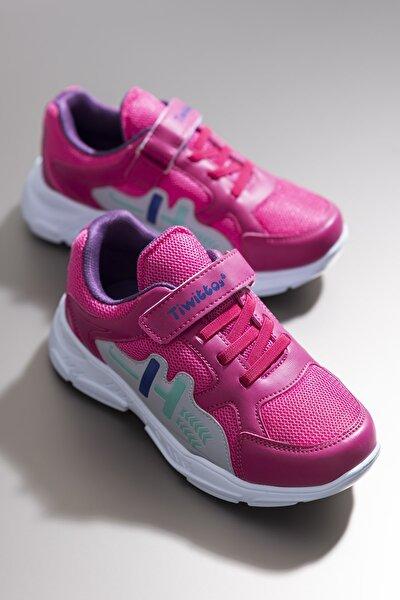 Fuşya Unisex Çocuk Sneaker TBZ13-3