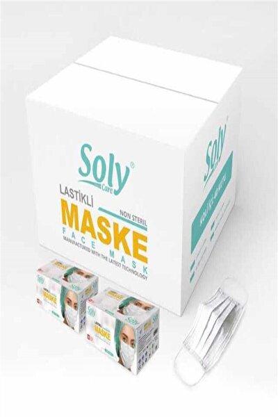 Care 3 Katlı Cerrahi Telli Full Ultrasonik Maske 150 Adet