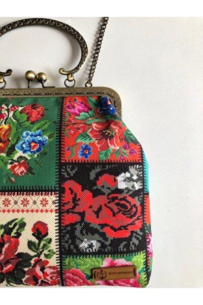 Kadın Karışık Renk Chaın Çanta