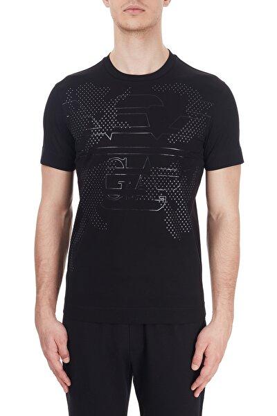 Erkek Siyah Baskılı Bisiklet Yaka % 100 Pamuk T Shirt T Shirt 6h1tg2 1jtuz 0999