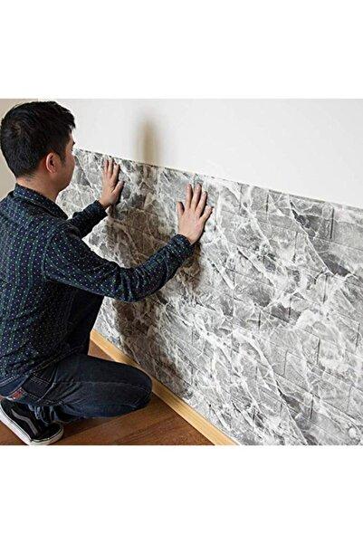 Nw13 Alaca Gri Tuğla Arkası Yapışkanlı Esnek Silinebilir Duvar Paneli