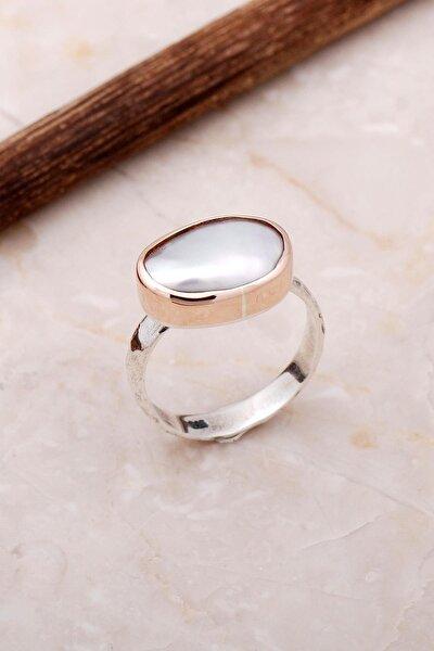 Inci Elişi Tasarım Trend Gümüş Yüzük 3053