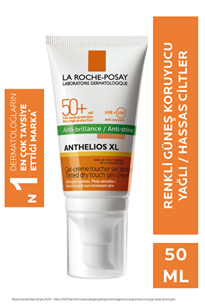 Anthelios Xl Spf 50+ Tinted Gel Cream 50ml