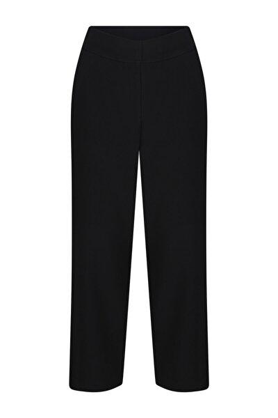 Kadın Siyah Flaır Pantolon