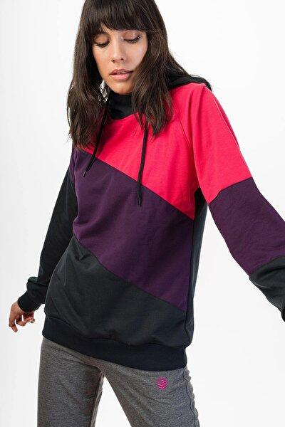 Kadın Mor Sweatshirt