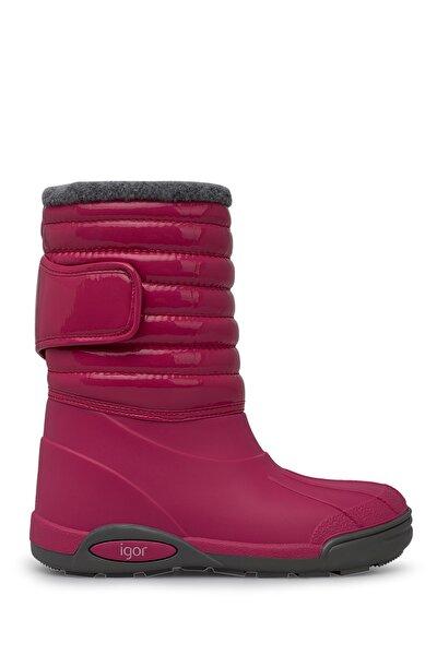 W10168-007 Fuşya Kız Çocuk Yağmur Çizmesi 100318367