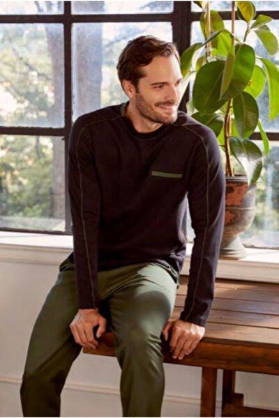 Erkek Siyah Pijama Takımı Ese27060