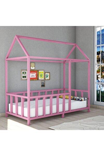 Orta Ahşap Montessori Çocuk Yatağı