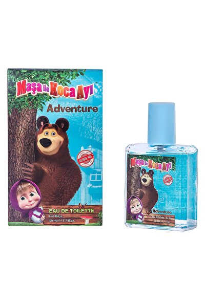 Maşa Ile Koca Ayı Adventure 50m Mavi Edt Çocuk Parfümü