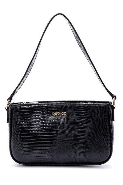 Kadın Baskılı Baget Çanta