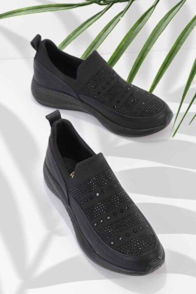 Siyah Kadın Casual Ayakkabı K01839001209