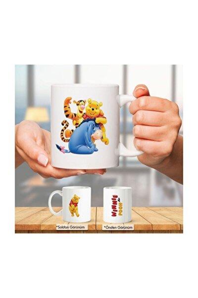 Winnie Pooh Motto Kupa Bardak