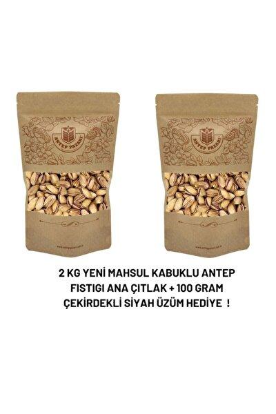 Antep Fıstıgı Yeni Mahsul Kavrulmuş Özel 2li Paket 2000 gram