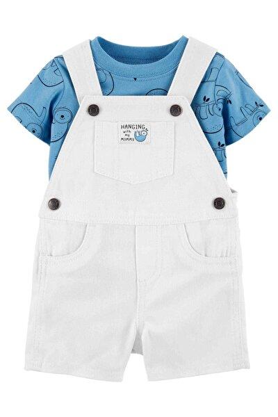 Erkek Bebek Bahçıvan Tulum Takım
