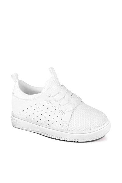 950.19Y.528 BEBE PHYLON Beyaz Unisex Çocuk Kalın Tabanlı Sneaker 100530271