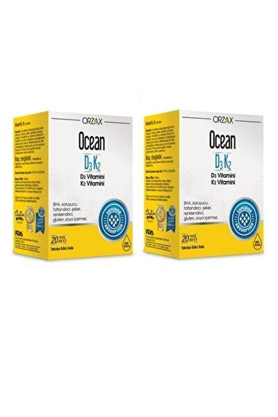 Ocean D3 K2 Vitamin Damla 20 Ml X2 Adet