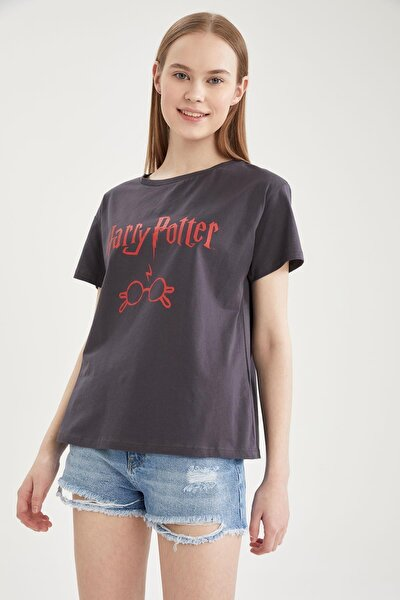 Coool Harry Potter Lisanslı Relax Fit Kısa Kollu Tişört