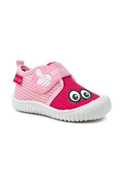 3035 Çocuk Pembe Yazlık Anaokulu/kreş Ayakkabı Panduf