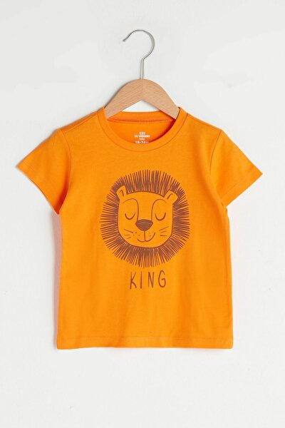 Erkek Bebek Turuncu Fmx T-Shirt