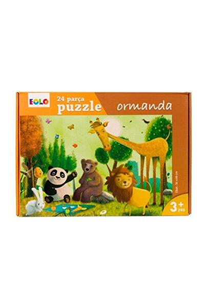 Ormanda Yer 24 Parça Puzzle