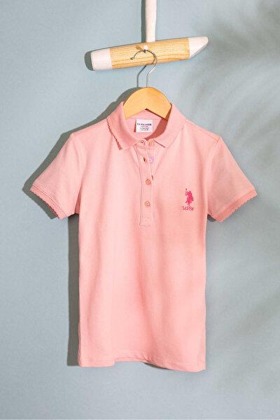 Pembe Kız Çocuk T-Shirt Basic