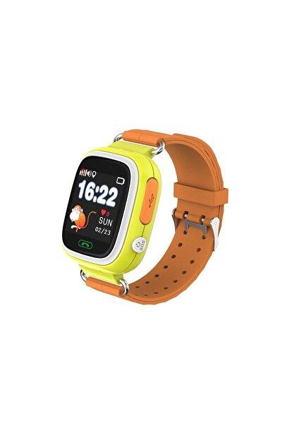 Td-07s Gps Akıllı Saat Çocuk Takip Saati Sim Kartlı Arama - Sarı