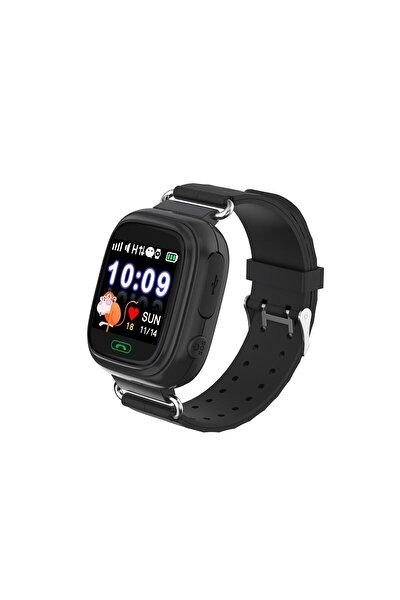 Td-07s Gps Akıllı Saat Çocuk Takip Saati Sim Kartlı Arama - Siyah