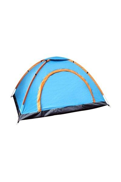3 Kişilik Kaliteli Kamp Çadırı 200x150x110 cm Çantalı Sineklik