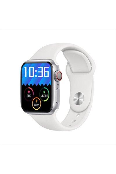 Pl6 Pro Watch 1.8 Inç Tam Ekran Full Hd Akıllı Saat Gümüş